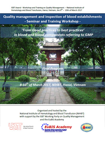 EuBIS course Vietnam, Hanoi, 8th - 10th of March 2017